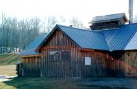 Isham Family Farm Sugar House.