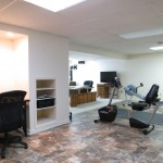 Flexible space lends itself to fitness room, craft room, kids playroom, home-based business...
