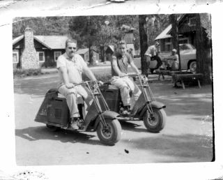 Scootin' Old Style