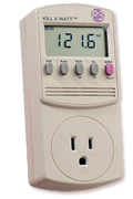 Kill-A-Watt Power Use Monitor