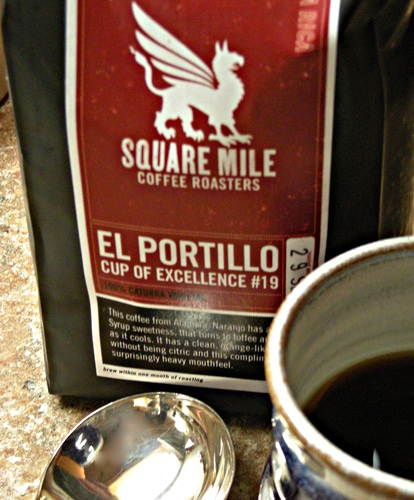 Tasting Square Mile Coffees